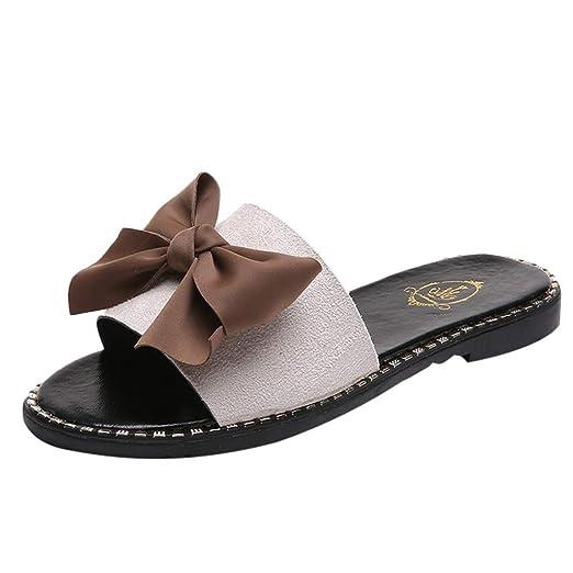 ede6dd05694ac Amazon.com: {Minikoad}Women's Beach Sandals,Ladies Flat Wild Wear ...