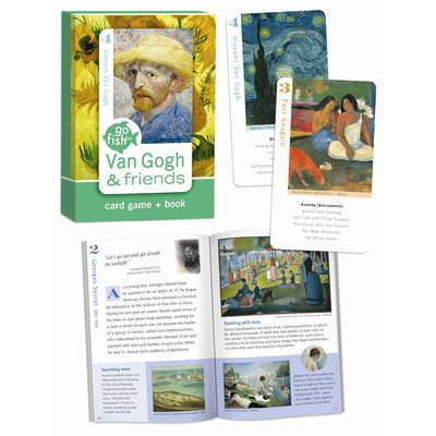 [1 X Van Gogh & Friends, Go Fish for Art Cards and Book Card Game] (Van Gogh Costume Kids)