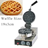 3cm Thickness 110v Electric 4-Slice Belgium Belgian Round Waffle Maker Machine Baker Iron