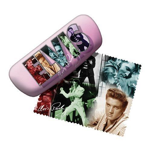 Elvis Presley Eye Glass Case Collage