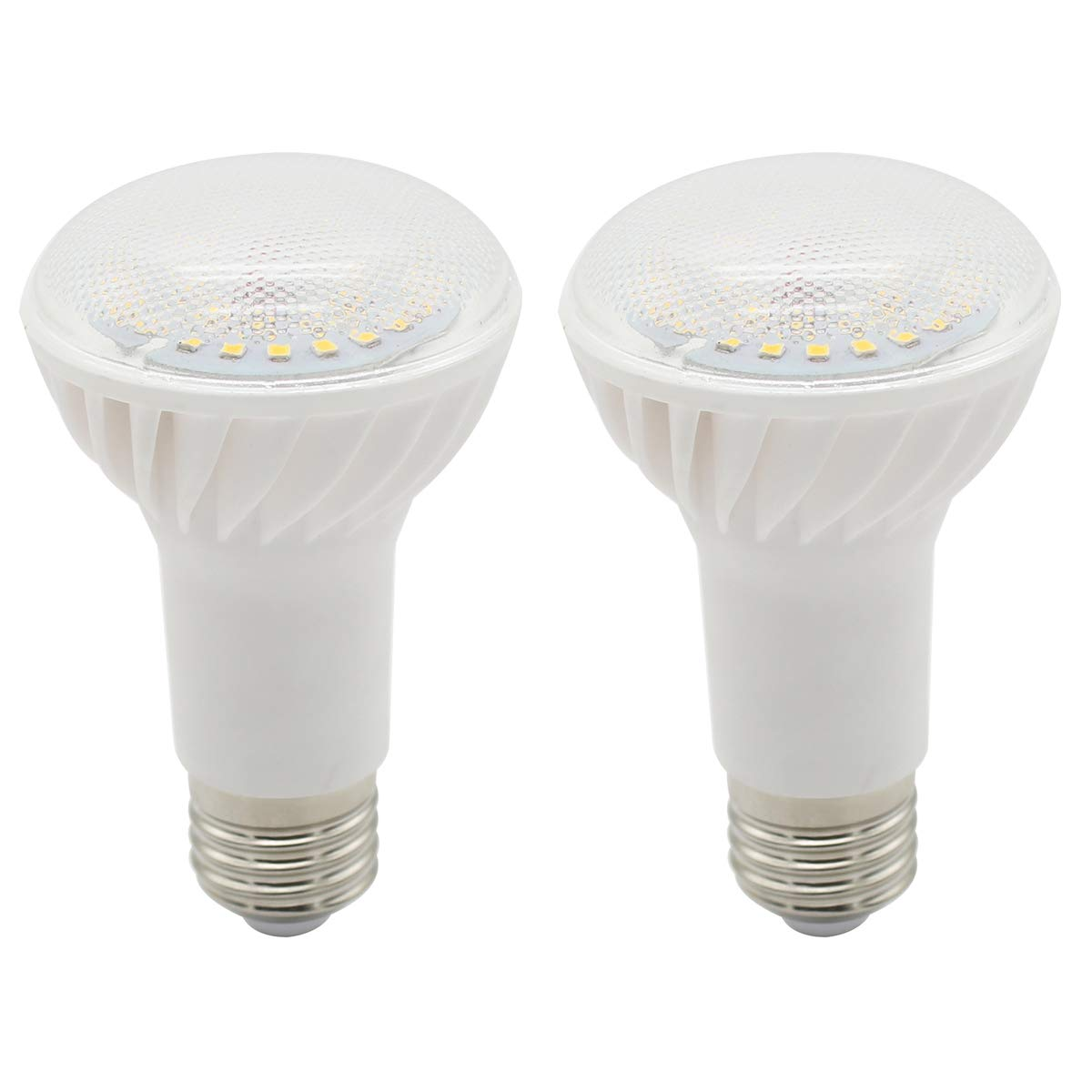 Ceramic Natural White, Not Dimmable 12W 1080Lm 100W Replacement Reflector LED Bulbs 2-Pack R63 Reflector E27 LED Bulb