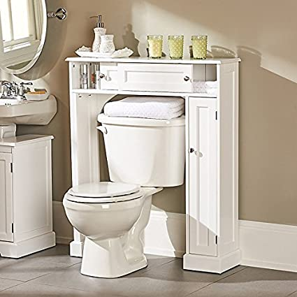 Weatherby Bathroom Over The Toilet Storage Cabinet   Improvements