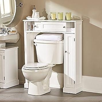 Bon Amazon.com: Weatherby Bathroom Over The Toilet Storage Cabinet    Improvements: Home U0026 Kitchen