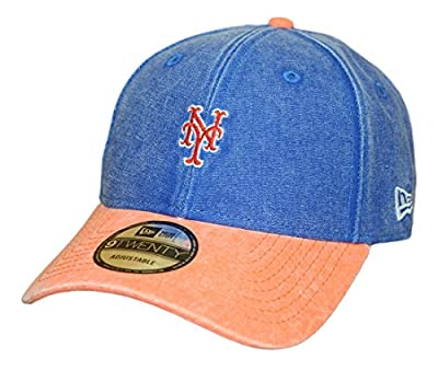 "New York Mets New Era 9Twenty MLB ""Rugged Canvas"" Adjustable Hat by New Era"
