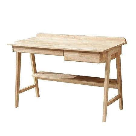 Escritorio de computadora De madera maciza de ordenador del ...