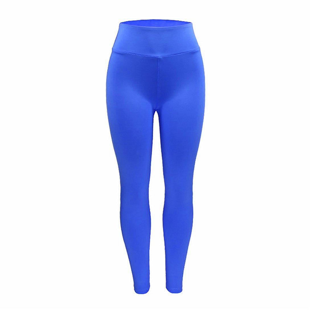 Oyedens Yoga Pantaloni Leggins Sportivi Vita Alta Palestra Athletic Fitness Esercizio Leggings Atletico Pantaloni Fit Jogging Calzamaglie e Leggings Sportivi da Donna Pants Fitness e palestra Pantaloni Yoga da Donna