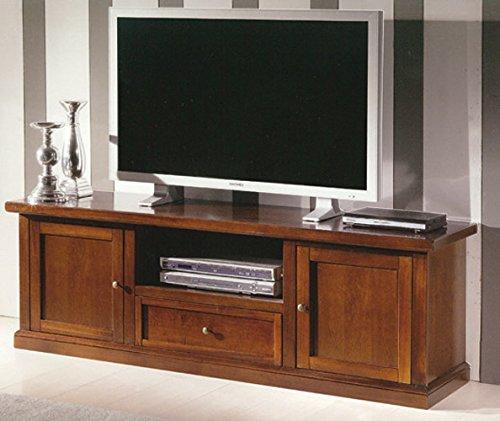 Porta Tv In Stile Classico.Gio Luxury Mobile Porta Tv Stile Classico In Legno Massello E