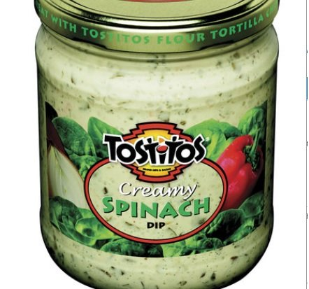 Creamy Spinach (Tostitos Creamy Spinach Dip, 23oz (Pack of 4))