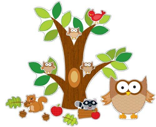 Carson Dellosa Owl Bulletin Board Set (110137) (Bulletin Boards Elementary)