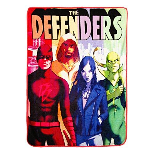 (Marvel The Defenders, are Here Micro Raschel, 46