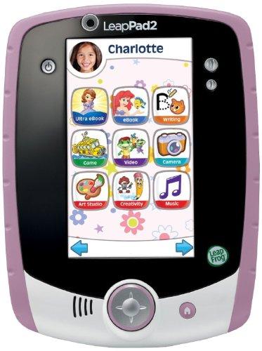 LeapFrog LeapPad2 Kids' Learning Tablet (Custom Edition), Pink by LeapFrog (Image #1)