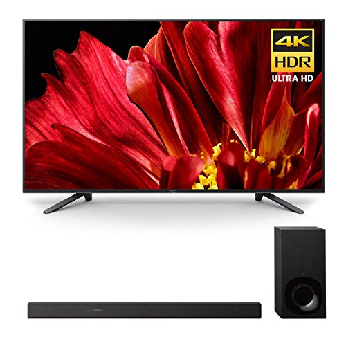 """Sony XBR-75Z9F 75"""" Master Series BRAVIA 4K HDR UHD TV and HT-Z9F 3.1-Channel Dolby Atmos Soundbar with Subwoofer"""