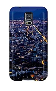 TurnerFisher Scratch-free Phone Case For Galaxy S5- Retail Packaging - City