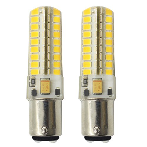 Dayker 5W Ba15d DC Bayonet Socket LED Light Bulbs DC 12-2...