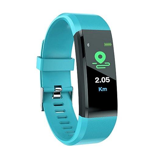 Cebbay Pulse Fitness Tracker con Monitor de Ritmo CardíAco,Reloj de Seguimiento de Actividad,Pulsera Inteligente Resistente Al Agua con Contador de ...