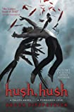 Front cover for the book Hush, Hush by Becca Fitzpatrick