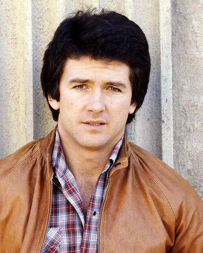 Patrick Duffy 8x10 Promotional Photograph in leather jacket as Bobby from Dallas