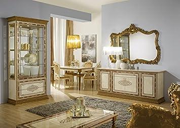 Esszimmer Jenny beige gold Italien Möbel Luxus Barock Bonn Alfte ...