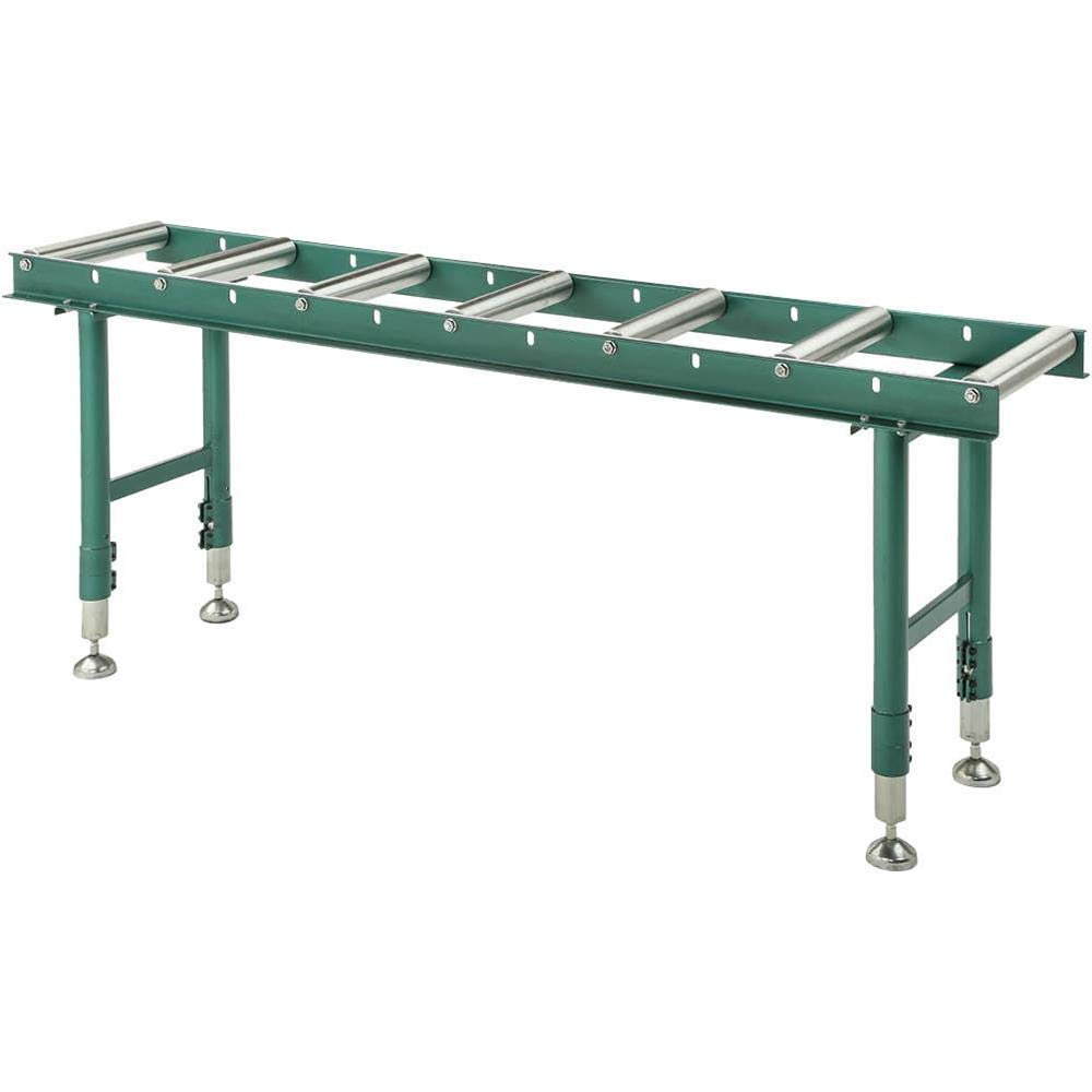 Grizzly Industrial T28369 14'' x 78'' Heavy-Duty Roller Table