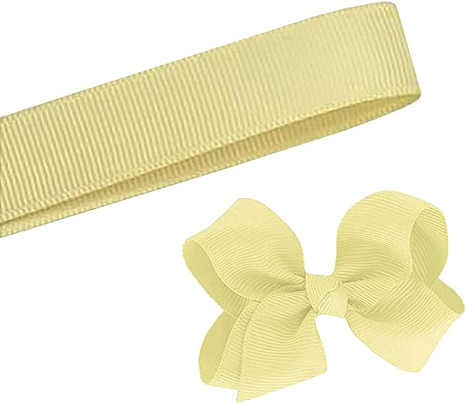 5 Yards Solid Blue Ribbon Yardage DIY Crafts Bows Décor USA