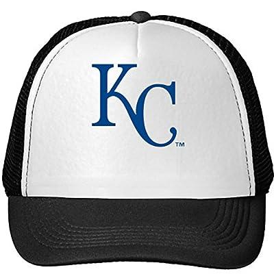 Donovan Jayne Men's Kansas City Royals Mesh Snapback Trucker Hats Caps