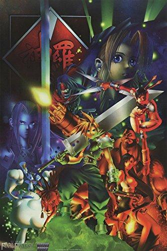 Final Fantasy 7 Rare High Quality Poster