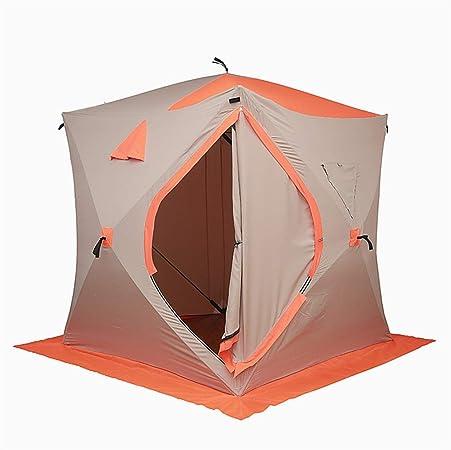 New Orange Étanche Imperméable 8 Personne Camping Pêche Glace Abri Tente