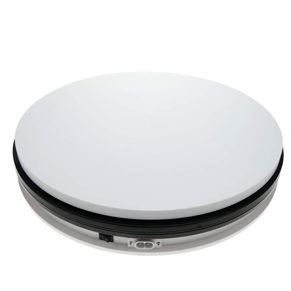 Base girevole elettrica 35cm bianco Cablematic.com PN29091418200123579