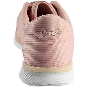 ASICS Women's FuzeX Rush Running Shoe, White/Evening Sand/Evening Sand, 8.5 Medium US