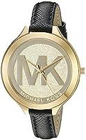 Michael Kors Women's Slim Runway Black Watch MK2392