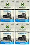 (4 Packages) VetriScience Laboratories - Composure Feline, 120 Bite-Sized Chews Total (30 Per Pack)