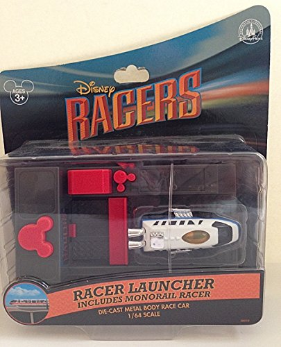 Penny Racer (Disney Park Racer Launcher with Monorail Diecast Model Car Racers)