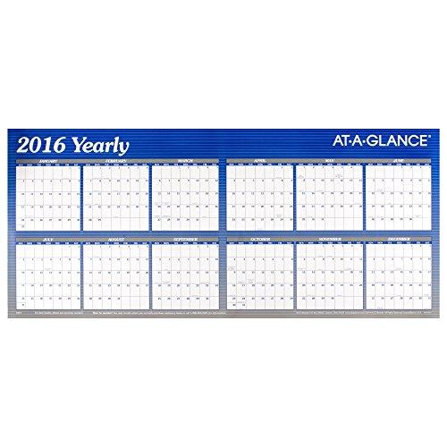GLANCE Calendar Erasable Reversible Horizontal product image