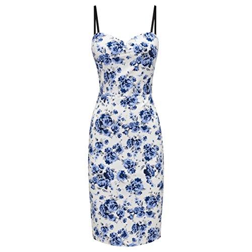 Joe A Emma's Browns Multicolore blue Bustier Femme White Favourite rcr56Pwq