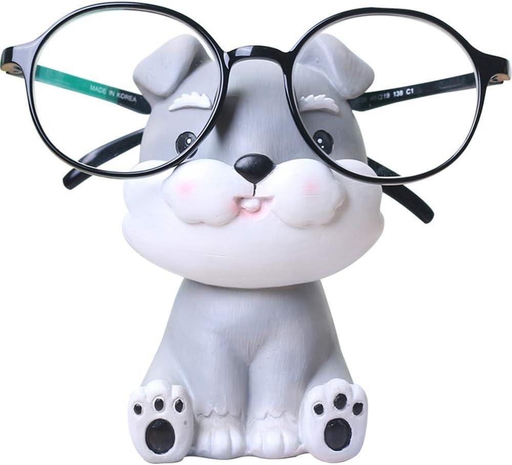Konrisa Porta Occhiali Piedistalli Espositivi Supporto espositore per Occhiali da Sole degli Occhiali Holder Creative Occhiali da Lettura per Uomo o Donna Home Office Decorazione Auto Ornamento