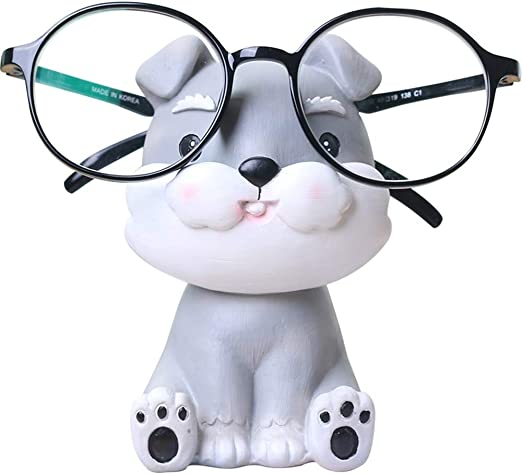 LIOOBO Soporte para Gafas para Perros Soporte para Gafas Soporte para Gafas Soporte de exhibici/ón para Schnauzer