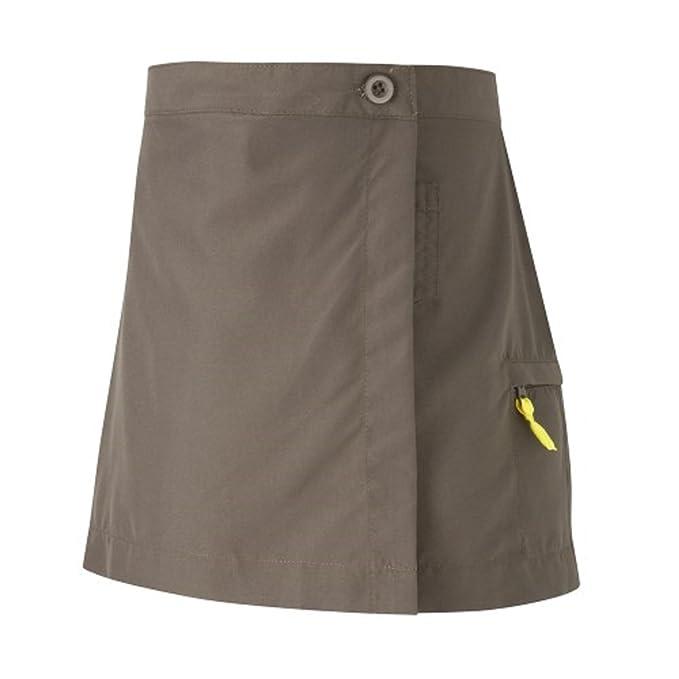 Official Brownie Guides – falda uniforme marrón marrón: Amazon.es ...