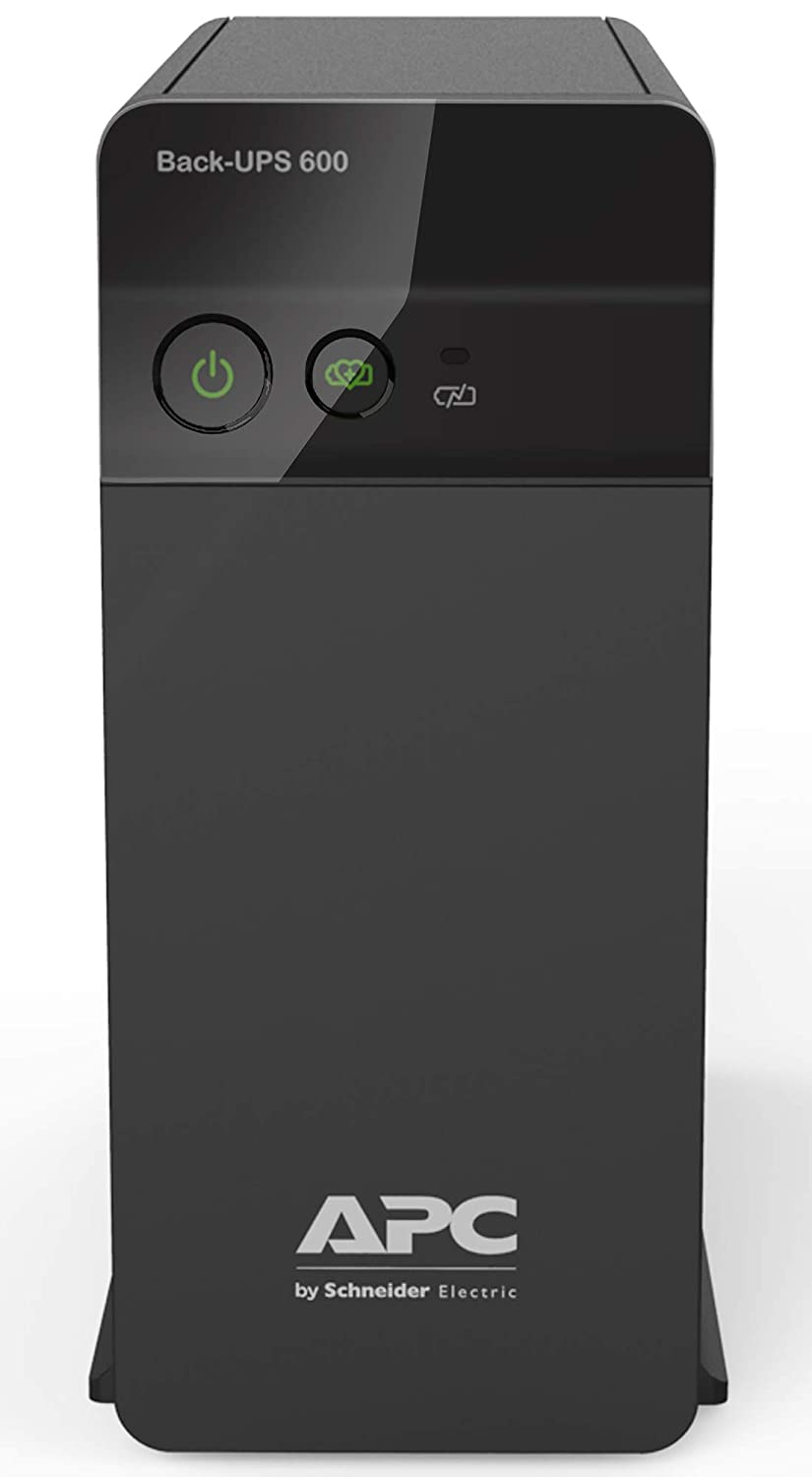 APC BX600C-IN 600VA/360W UPS System For Personal Computers,