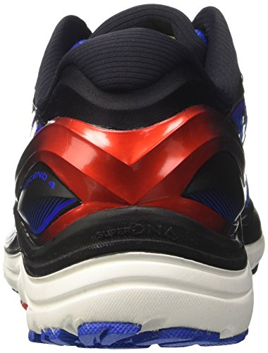 Azul Zapatos Electric Blue Brooks Correr Risk para Transcend Black 4 Red Hombre High para WnTWE0y