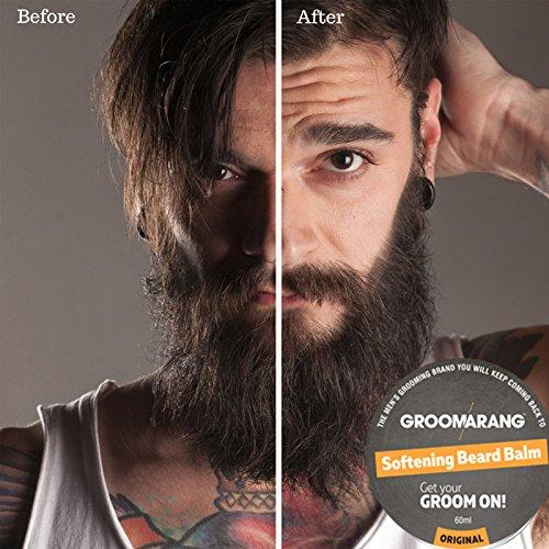 Groomarang Premium Softening Beard Balm For Beards 3afc2603e31f4