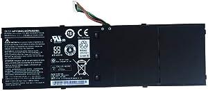 Binger New AP13B8K AP13B3K Replacement Laptop Battery Compatible With Acer Aspire V5 V5-572P V5-572G Notebook(53Wh 3510mAh 15.2V)