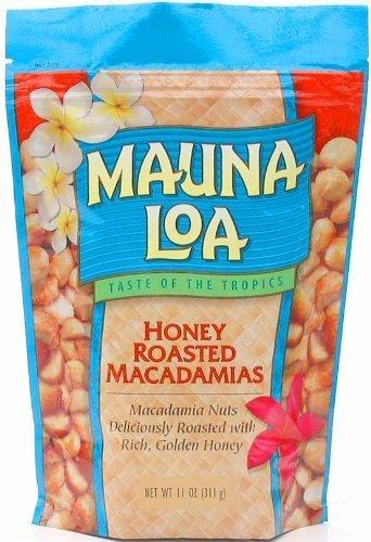 Mauna Loa Honey Roasted Macadamia Nuts, 11-Ounce package (Pack of 6) by Mauna Loa