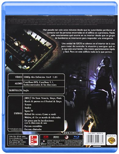Rec 2 (2009) ( [Rec] 2 ) ( Rec Two ) [ NON-USA FORMAT, Blu-Ray, Reg.B Import - Spain ]