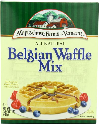 B&g Foods (B&G Foods Belgian Waffle Mix, 24-Ounce (Pack of 6))