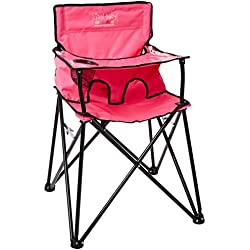 Ciao! Baby Portable Travel Highchair, Pink
