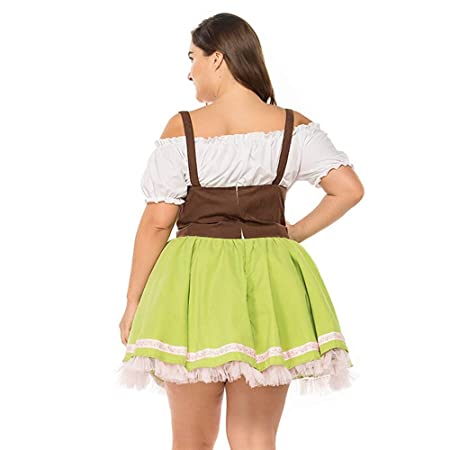 Amazon.com: Dsood - Vestido de tirolesa de venda alemana ...