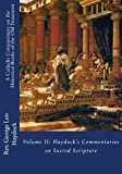 img - for A Catholic Commentary on the Historical Books of the Old Testament: Volume II: Haydock's Commentaries on Sacred Scripture book / textbook / text book