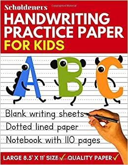 EPUB Gratis Handwriting Practice Paper: Blank Writing Sheets