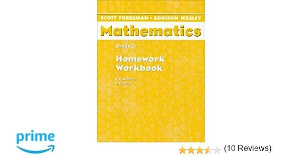 Mathematics: Grade 2 Homework Workbook: Scott Foresman ...