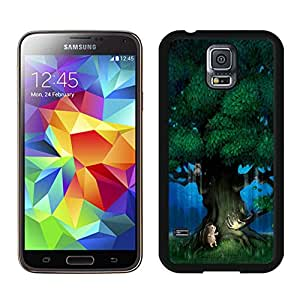 Popular Designed Case With Magical Tree Cover Case For Samsung Galaxy S5 I9600 G900a G900v G900p G900t G900w Black Phone Case CR-399